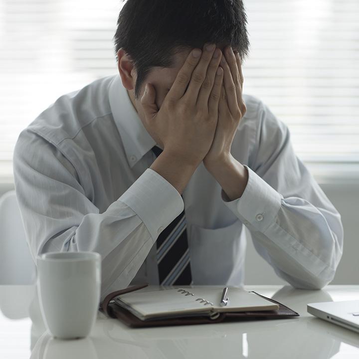 ストレスに弱い日本人